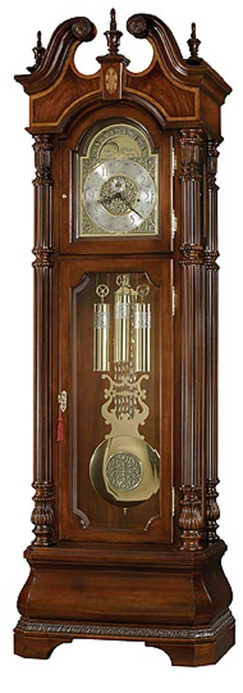 Howard Miller Clocks Eisenhower Grandfather Clock - Item Number: 611066-dc