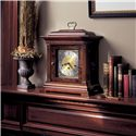 Howard Miller 612 Thomas Tompion Mantel Clock - Clock Shown on Mantel