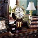 Howard Miller 613 Britannia Table Clock - Table Clock Shown in Room Setting
