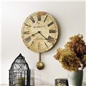 Howard Miller 620 J. H. Gould and Co.™ II Wall Clock - Wall Clock Shown in Room Setting
