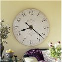 Howard Miller 620 Enrico Fulvi Wall Clock - Wall Clock Shown in Room Setting