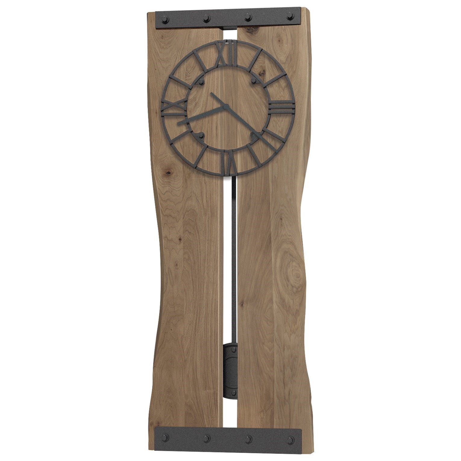 620 Zeno Wall Clock by Howard Miller at Stuckey Furniture