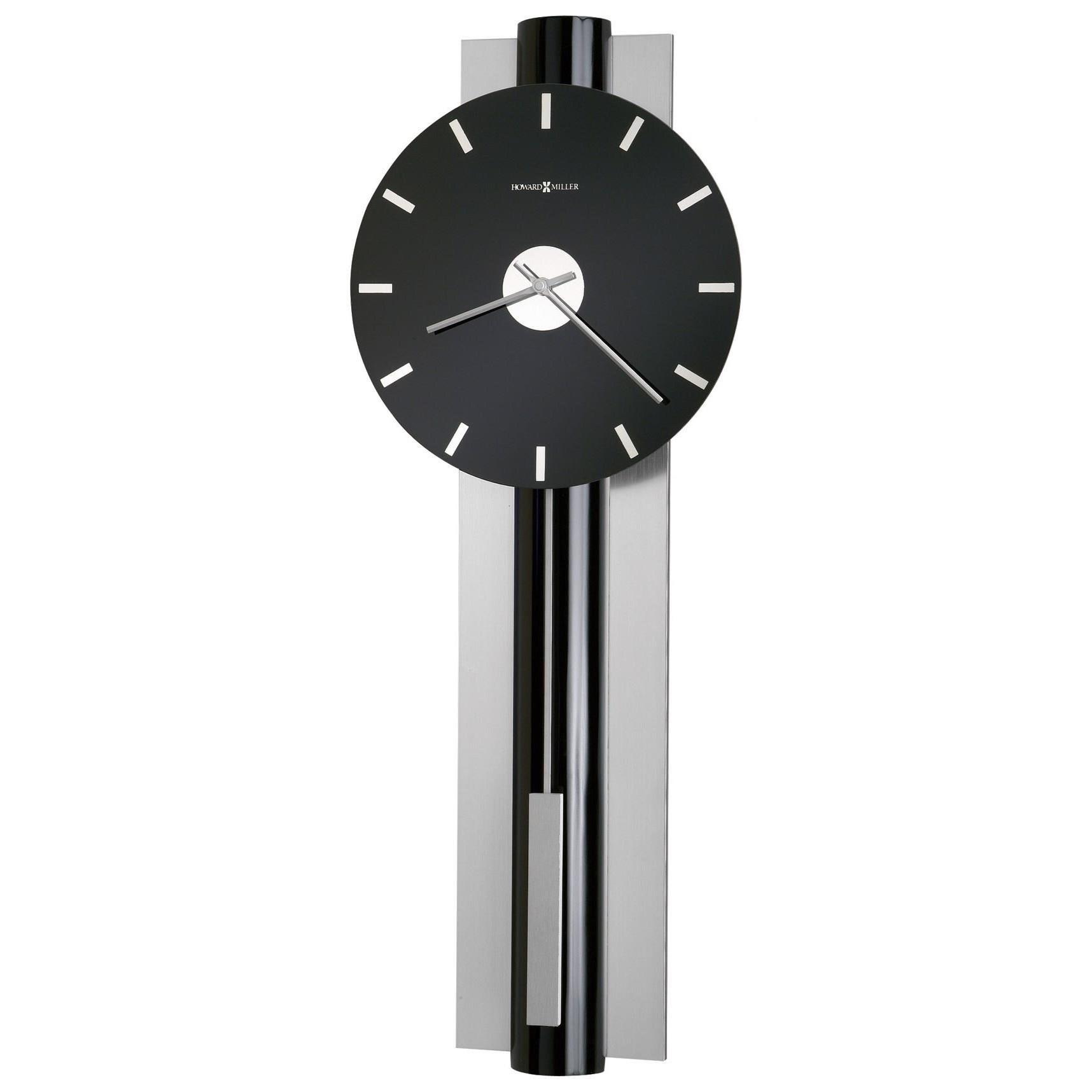 Wall Clocks Hudson Wall Clock by Howard Miller at Stuckey Furniture