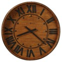 Howard Miller Wall Clocks Wine Barrel Wall Clock - Item Number: 625-453