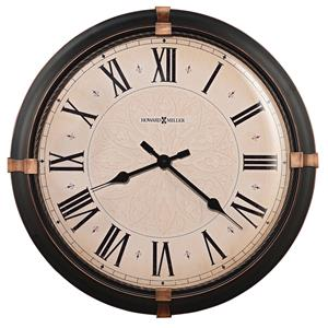 Howard Miller 625 Series Atwater Wall Clock