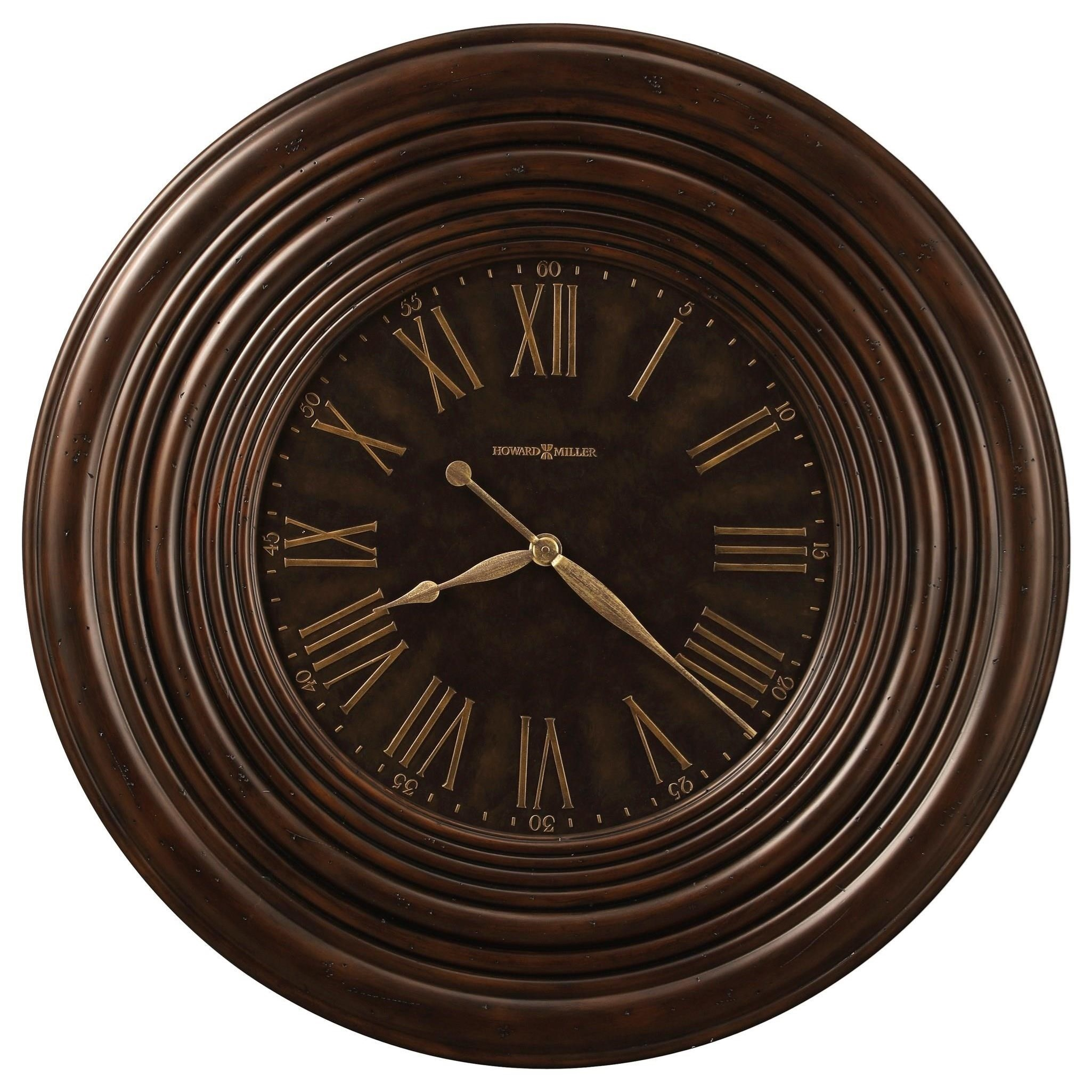 Wall Clocks Harrisburg Wall Clock by Howard Miller at Reid's Furniture