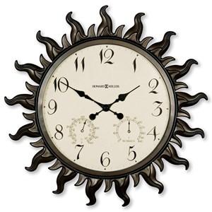 Sunburst II Wall Clock
