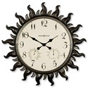 Howard Miller Wall Clocks Sunburst II Wall Clock - Item Number: 625-543