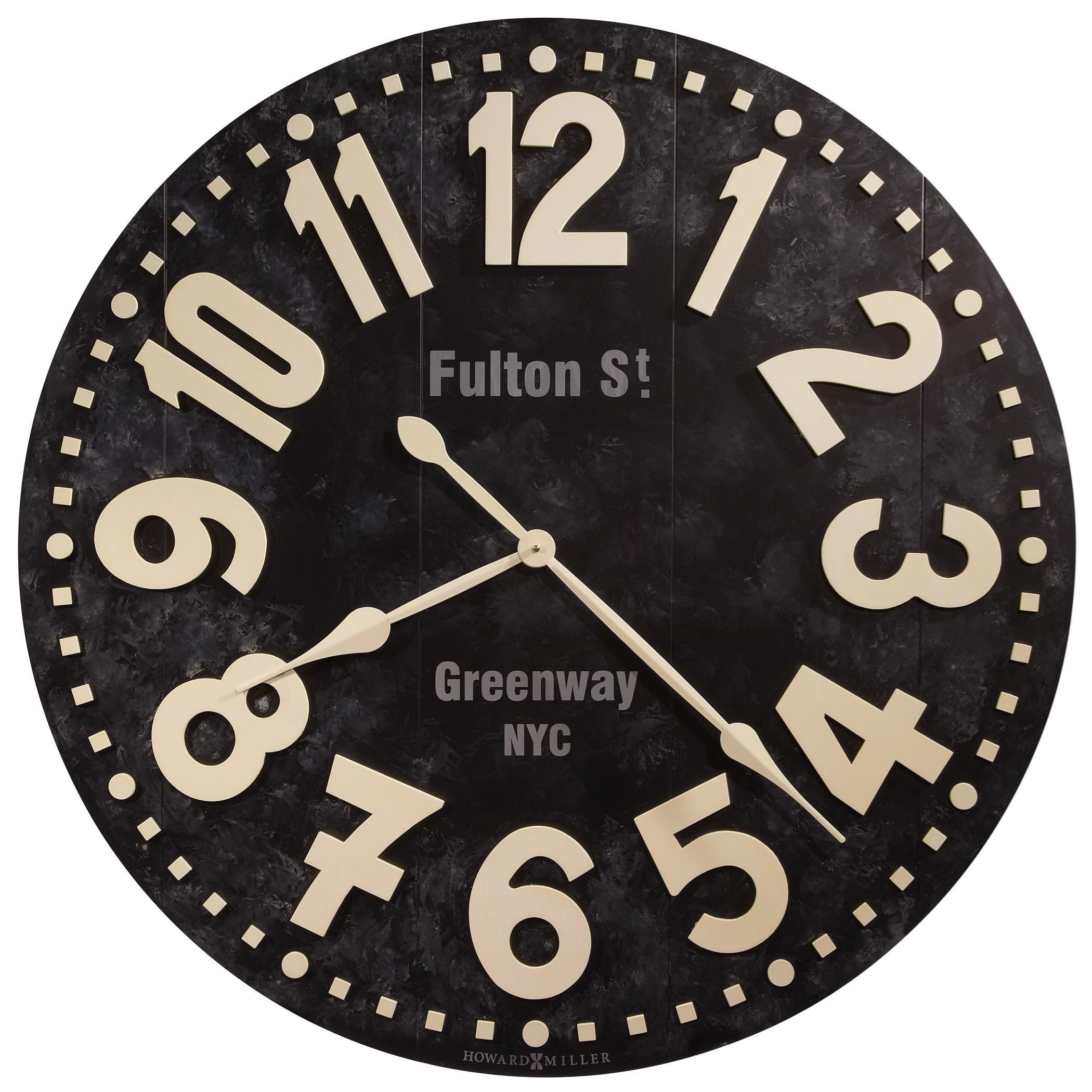 Howard Miller Wall Clocks Fulton Street Wall Clock - Item Number: 625-557