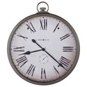 Howard Miller Wall Clocks Pocket Watch Wall Clock - Item Number: 625-572