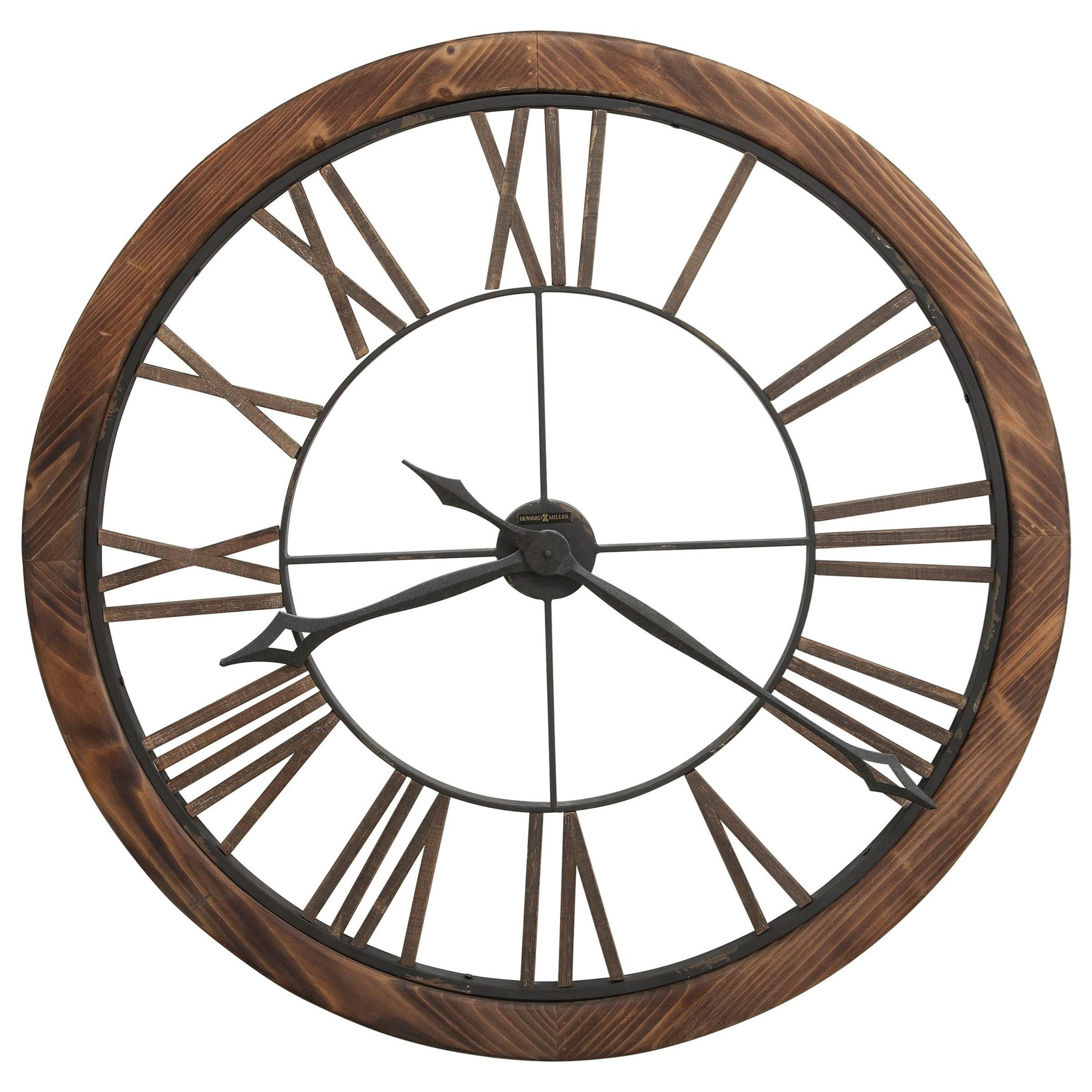 Wall Clocks Thatcher Wall Clock by Howard Miller at Prime Brothers Furniture