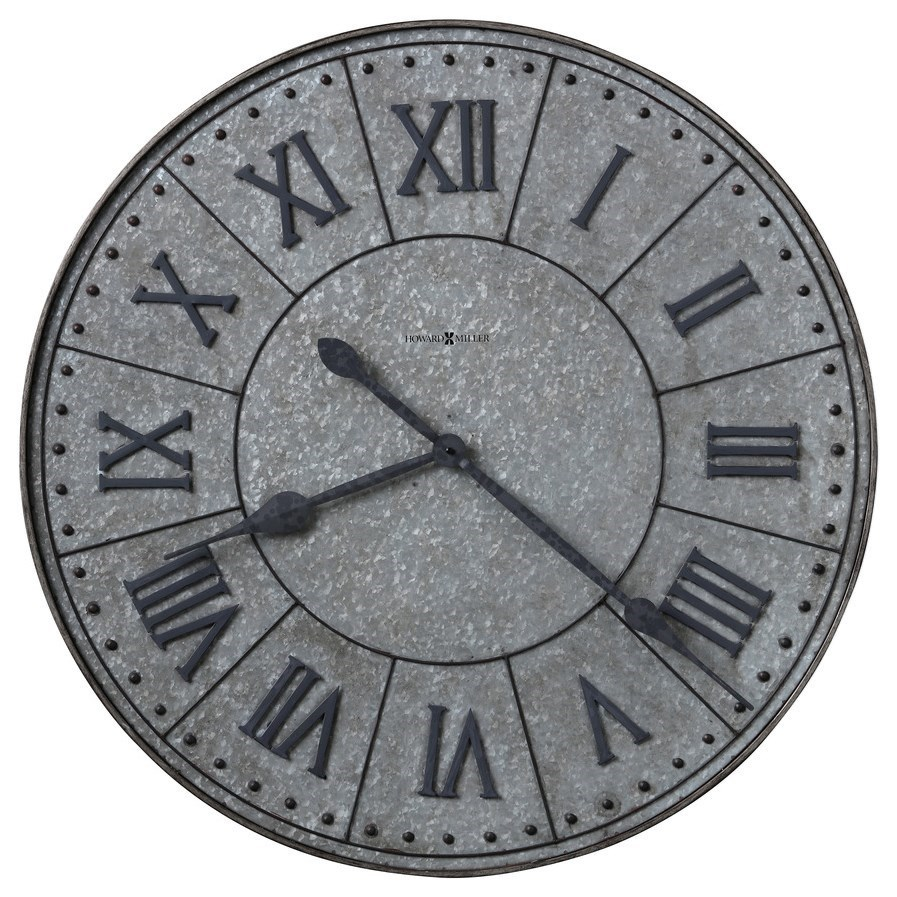 Wall Clocks Manzine Wall Clock by Howard Miller at Prime Brothers Furniture