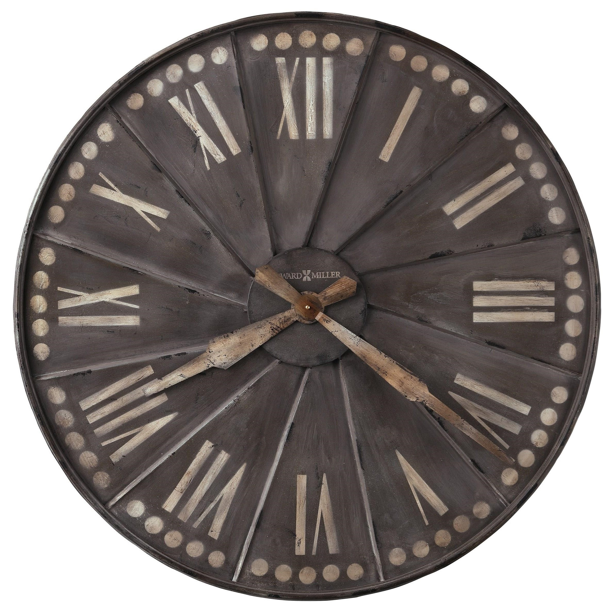 Wall Clocks Wall Clock by Howard Miller at Esprit Decor Home Furnishings