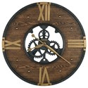 Howard Miller Wall Clocks Murano Wall Clock - Item Number: 625-650