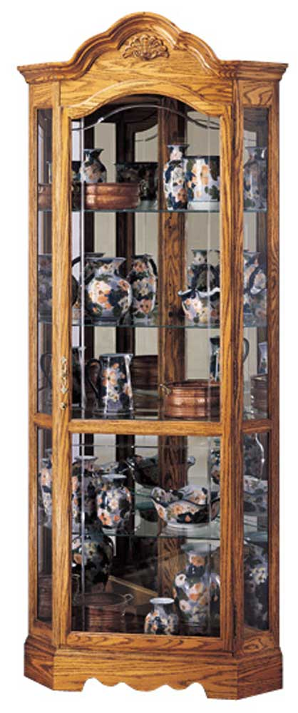 Howard Miller Cabinets Wilshire Collectors Cabinet - Item Number: 680207-mo