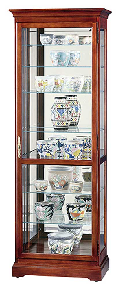 Howard Miller Cabinets Chesterfield Collectors Cabinet - Item Number: 680286-mc