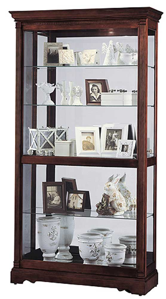 Howard Miller Cabinets Dublin Collectors Cabinet - Item Number: 680337-dc