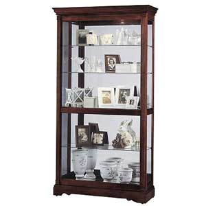 Howard Miller Cabinets Dublin Collectors Cabinet