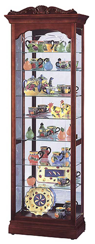 Howard Miller Cabinets Hastings Collectors Cabinet - Item Number: 680342-dc