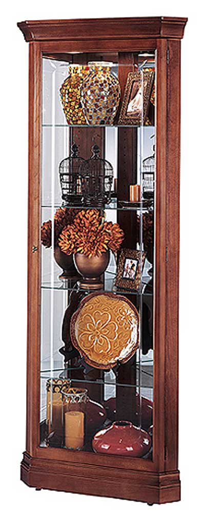 Howard Miller Cabinets Lynwood Collectors Cabinet - Item Number: 680345-mc