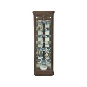 Gable Curio Cabinet