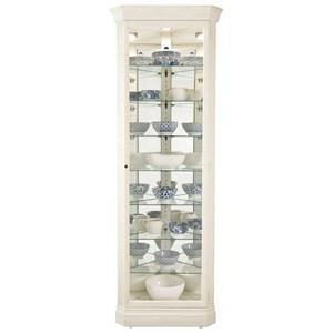 Howard Miller Corner Curios Delia Corner Curio Cabinet