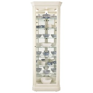 Delia Corner Curio Cabinet