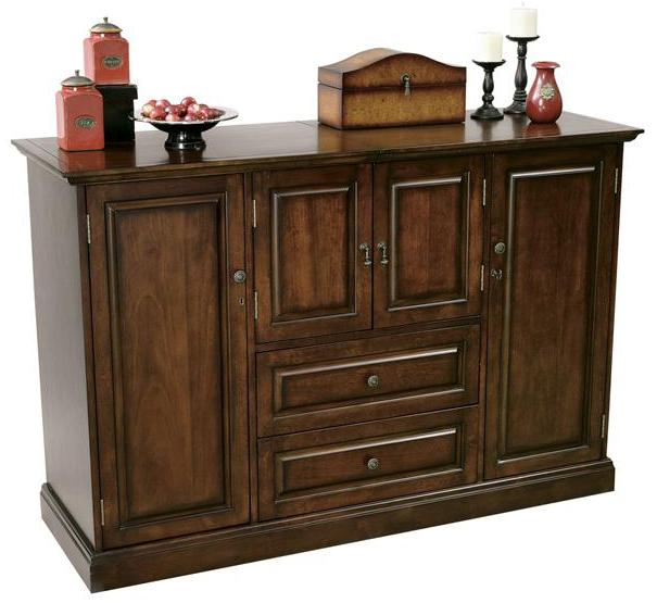 Howard Miller Devino Wine and Bar Cabinet - Item Number: 695080