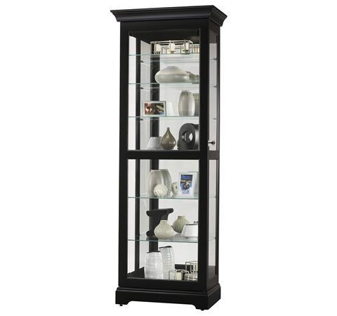 Morris Home Furnishings Harmony Harmony Sliding Door Curio Cabinet - Item Number: 17419048