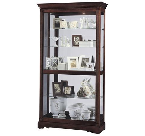 Morris Home Furnishings Harmony Harmony Large Sliding Door Curio Cabinet - Item Number: 334456670