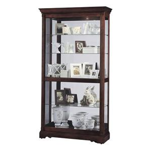 Morris Home Furnishings Harmony Harmony Large Sliding Door Curio Cabinet