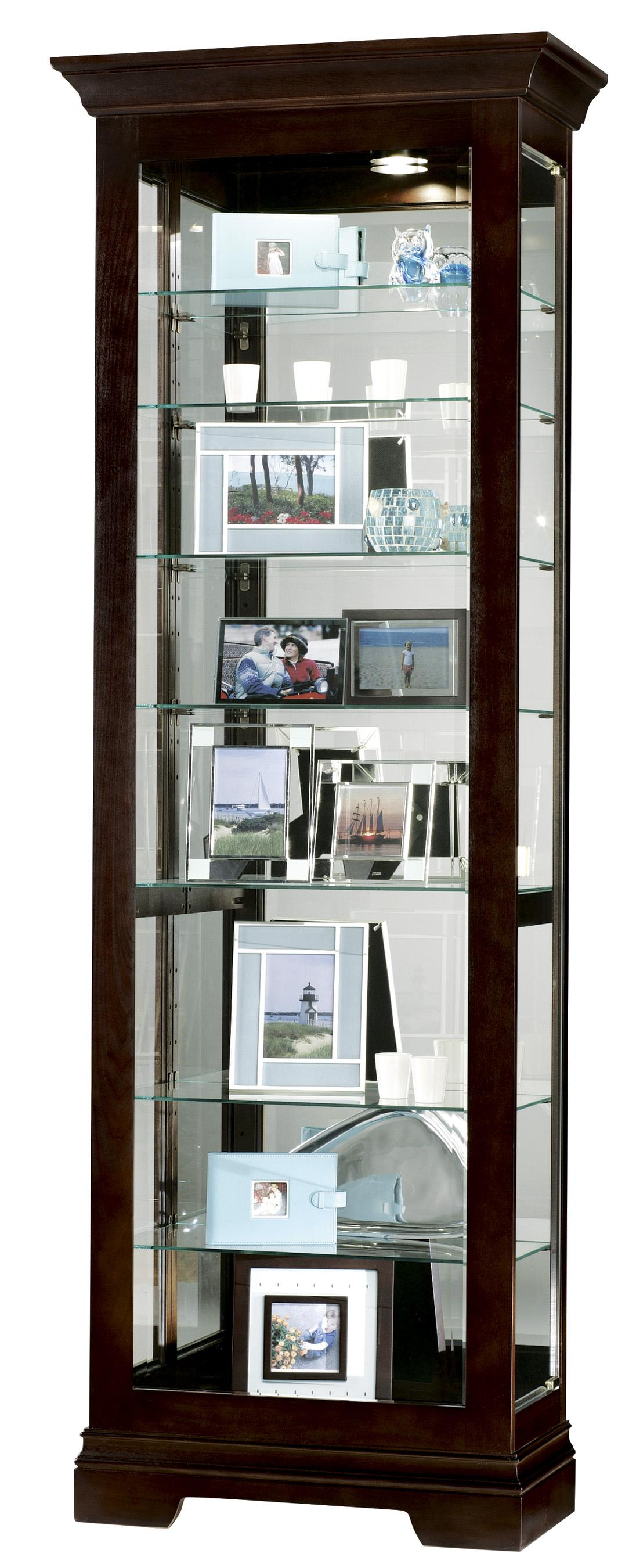 Howard Miller Furniture Trend Designs Curios Saloman Display Cabinet - Item Number: 680-412