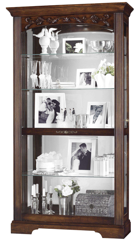 Howard Miller Furniture Trend Designs Curios Hartland Display Cabinet - Item Number: 680-445