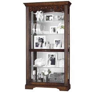 Howard Miller Furniture Trend Designs Curios Hartland Display Cabinet