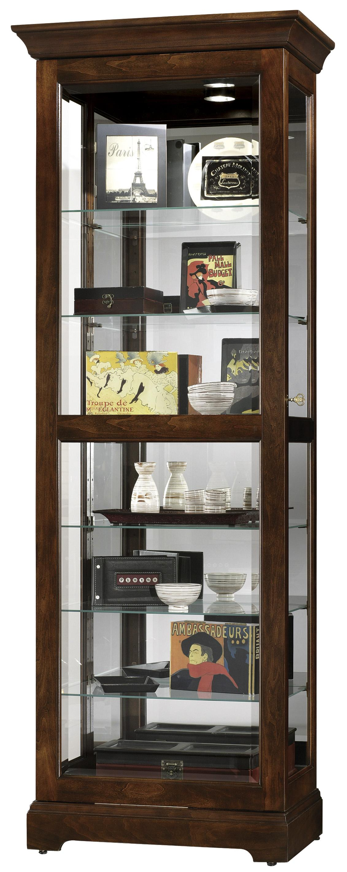 Howard Miller Furniture Trend Designs Curios Martindale Display Cabinet - Item Number: 680-469