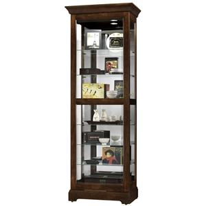 Morris Home Furnishings Harmony Harmony Sliding Door Curio Cabinet