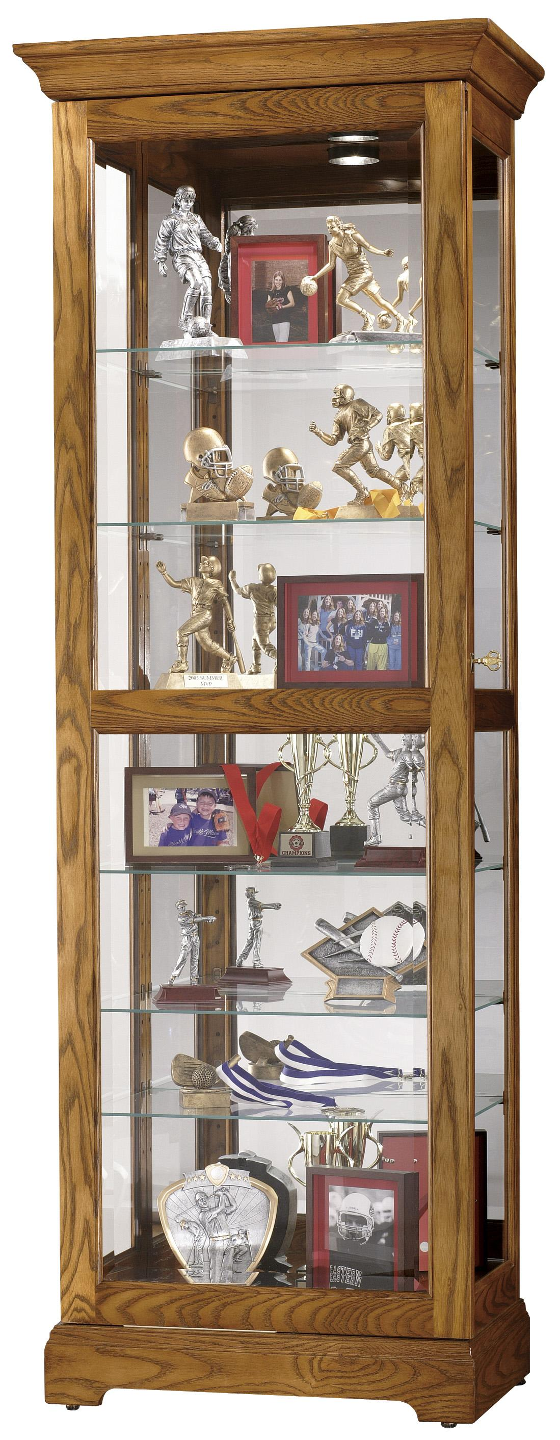 Howard Miller Furniture Trend Designs Curios Moorland Display Cabinet - Item Number: 680-471