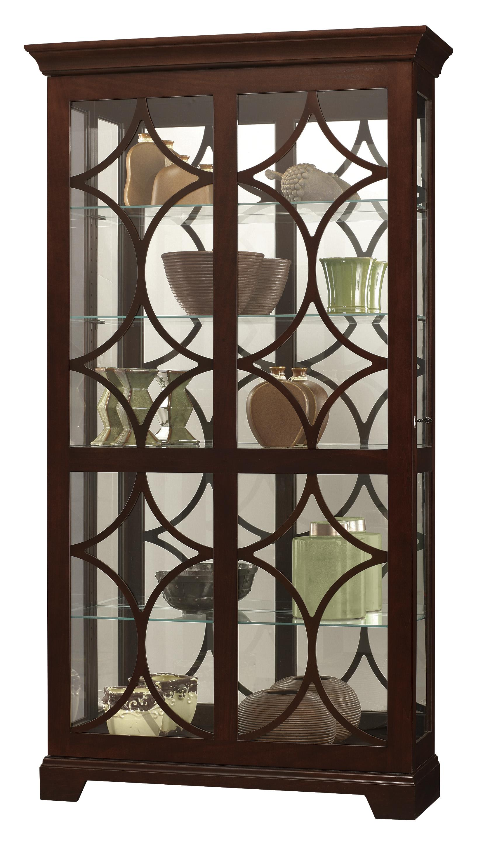 Howard Miller Furniture Trend Designs Curios Morriston Display Cabinet - Item Number: 680-493
