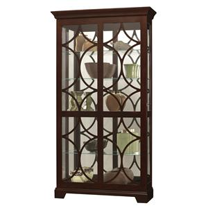 Howard Miller Furniture Trend Designs Curios Morriston Display Cabinet