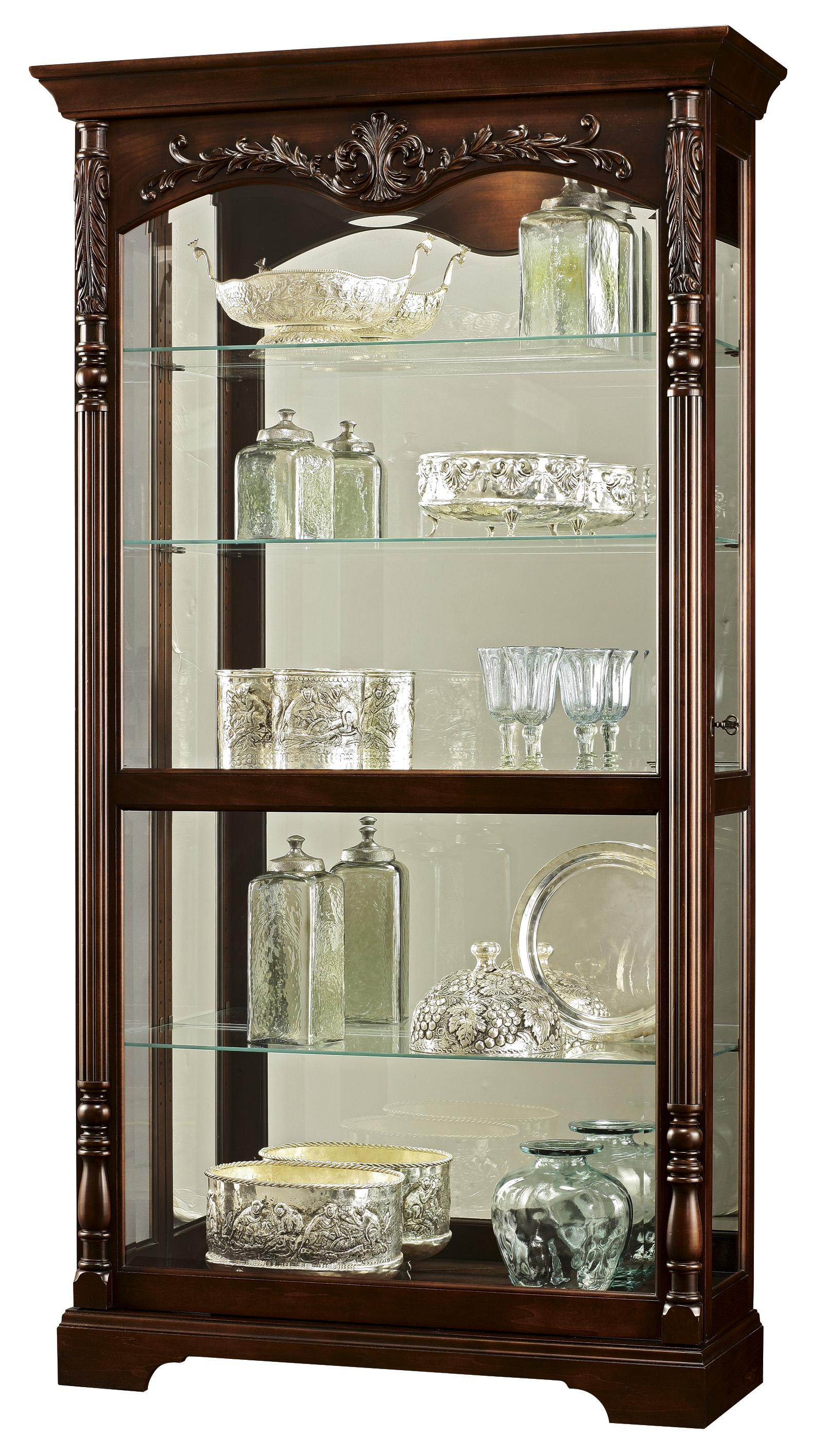 Howard Miller Furniture Trend Designs Curios Felicia Display Cabinet - Item Number: 680-497