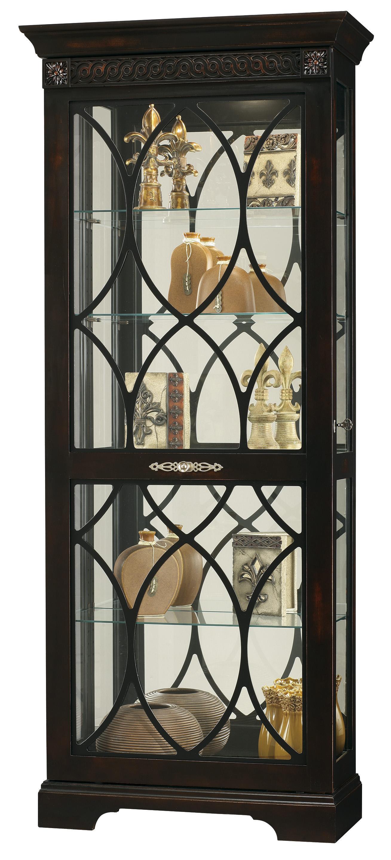 Howard Miller Furniture Trend Designs Curios Roslyn Display Cabinet - Item Number: 680-499