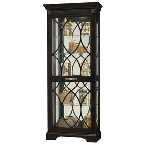 Howard Miller Furniture Trend Designs Curios Roslyn Display Cabinet