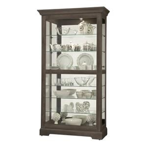 Gable Display Cabinet
