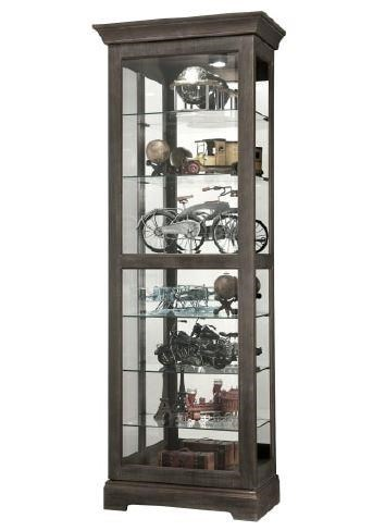 Gable - Gable Curio Cabinet by Howard Miller at Morris Home