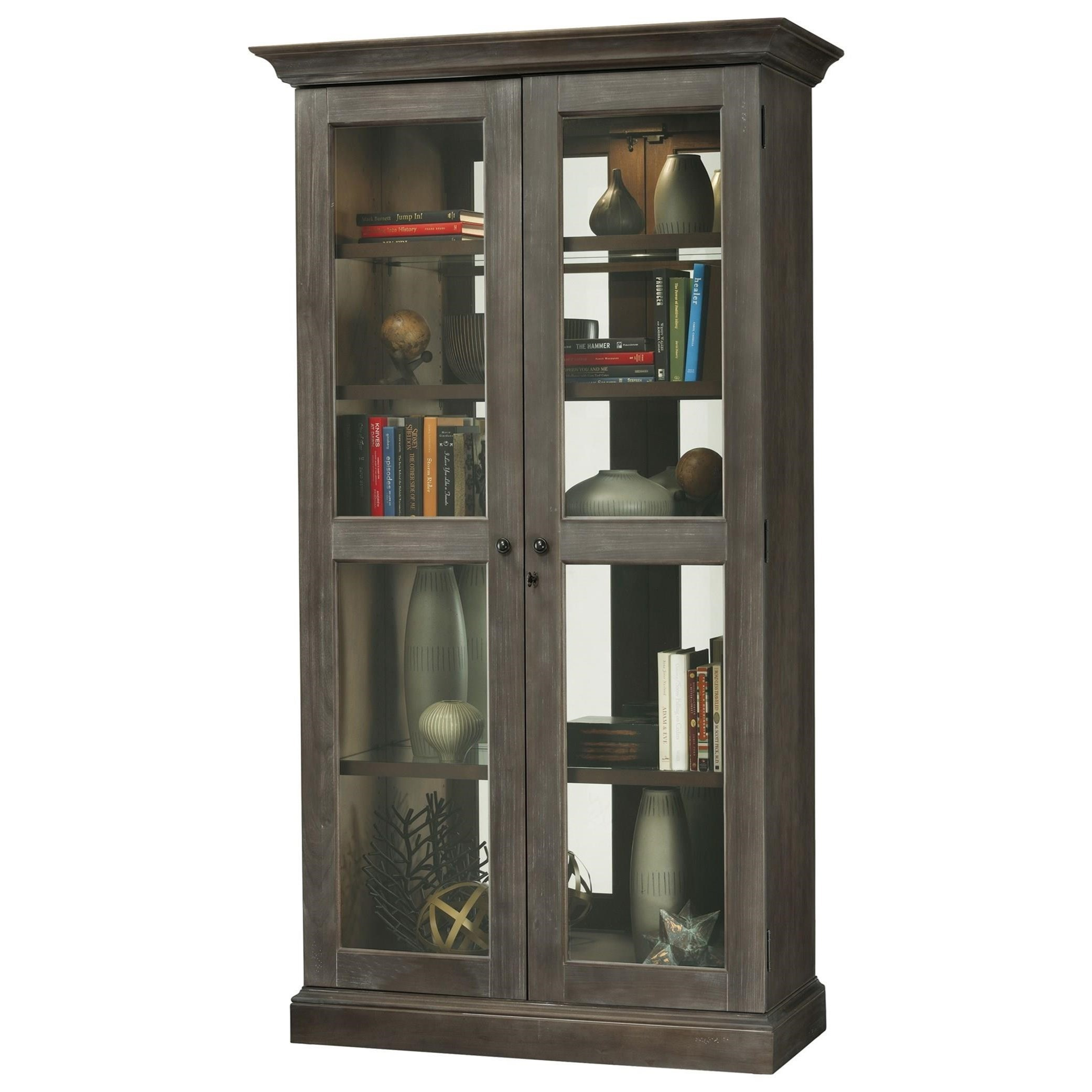Howard Miller Cabinets Lennon III Bookcase | Wayside ...