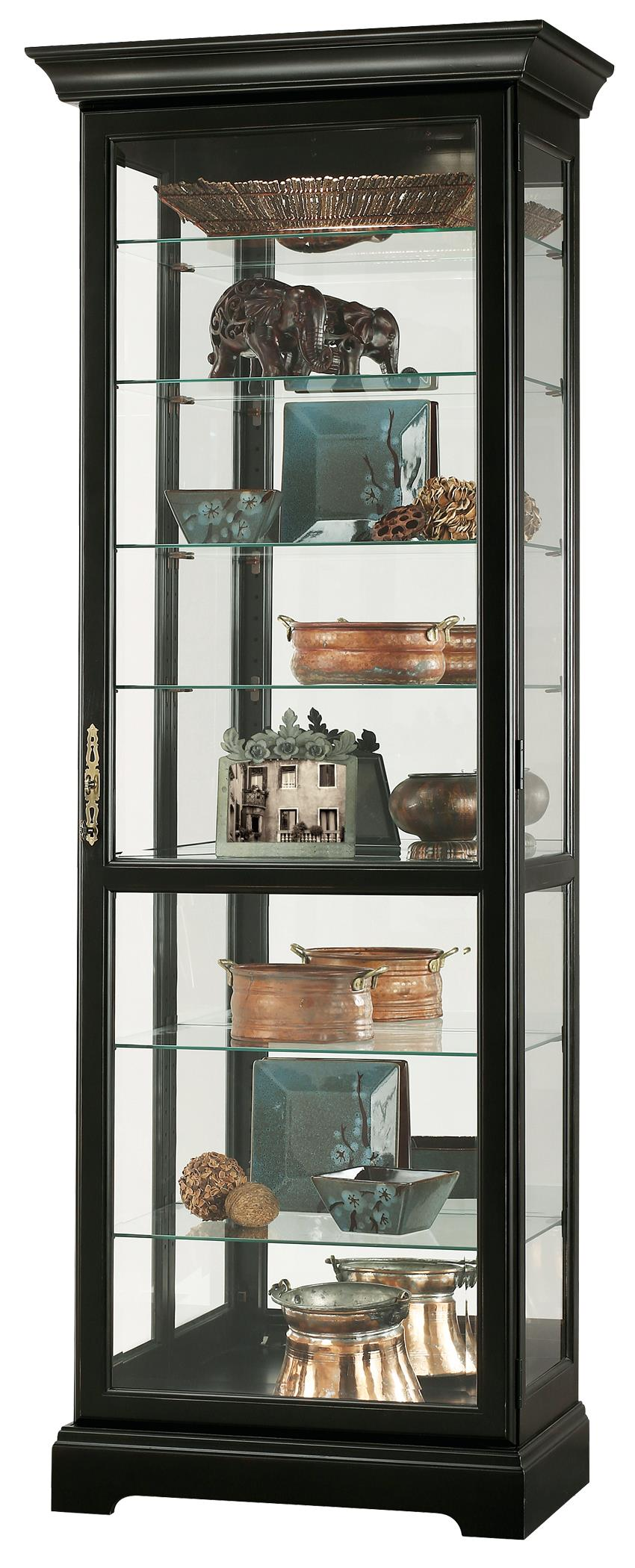 Howard Miller Cabinets Chesterfield III Curio Cabinet - Item Number: 680-287