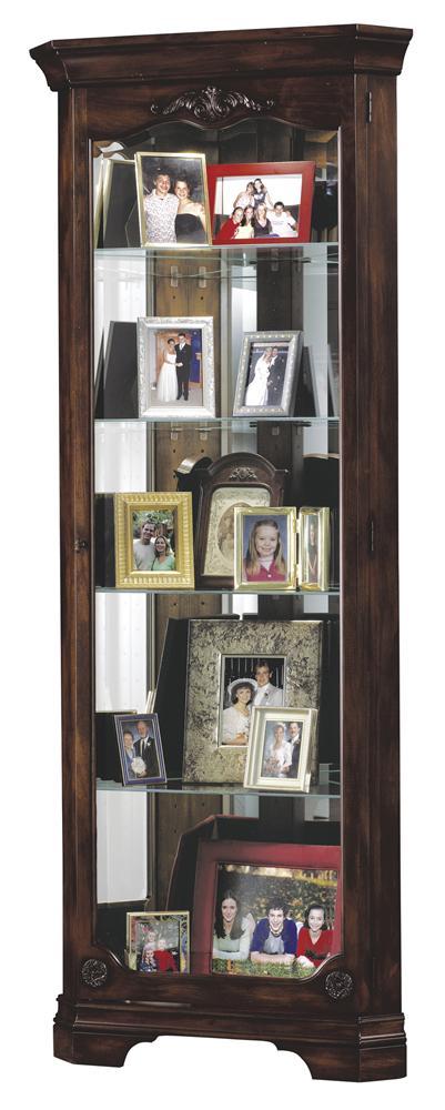 Howard Miller Cabinets Constance Curio Cabinet - Item Number: 680-404