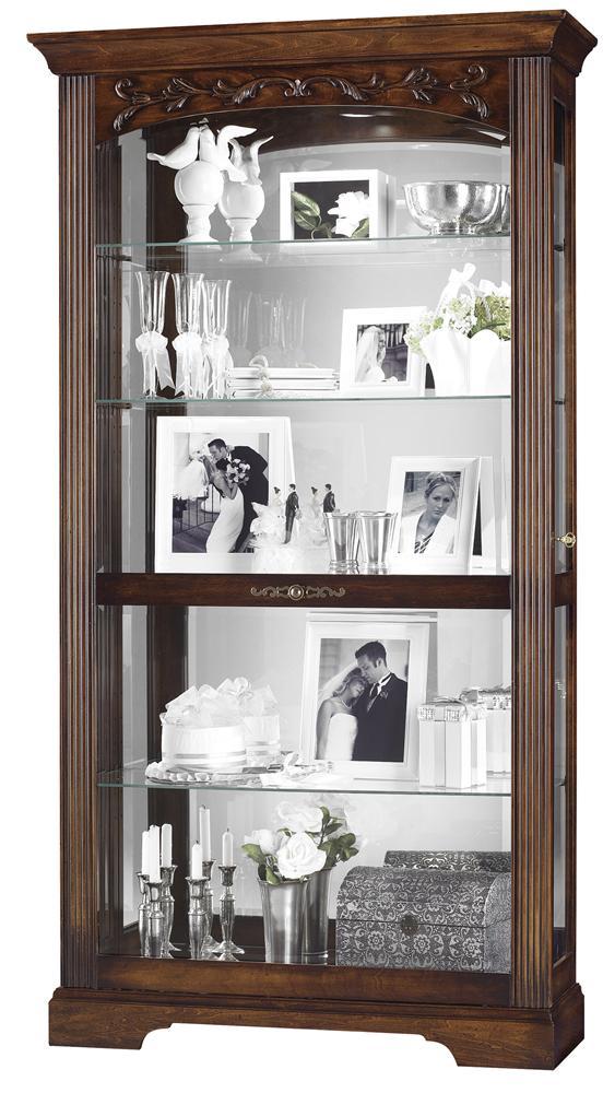 Howard Miller Cabinets Hartland Curio Cabinet - Item Number: 680-445