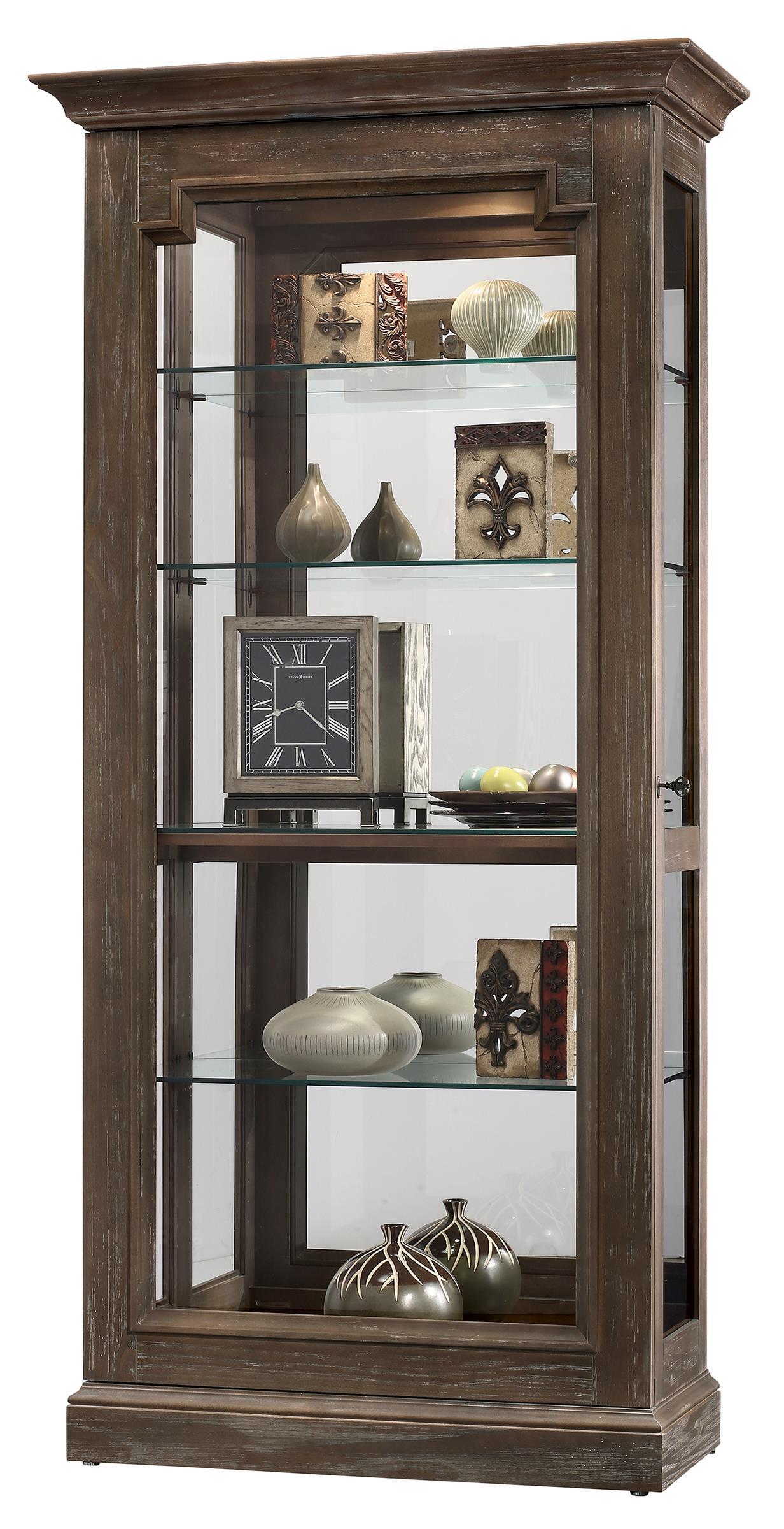Howard Miller Cabinets Caden II Curio Cabinet - Item Number: 680-608