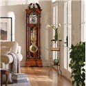 Howard Miller Clocks Ramsey Grandfather Clock with a Turned Urn Finial